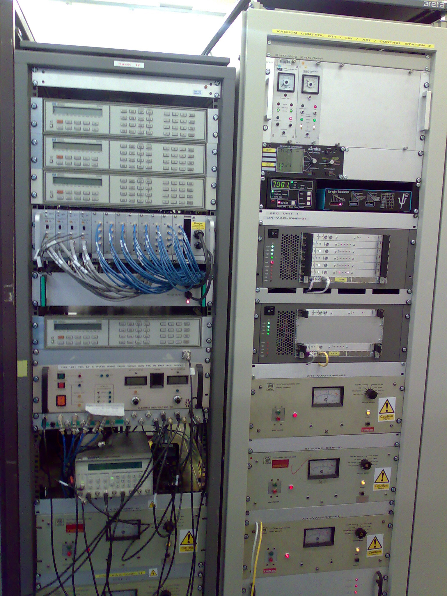 Astec Controls And Data Acquisition System Wiring Diagram Control Psu Equipment Racks
