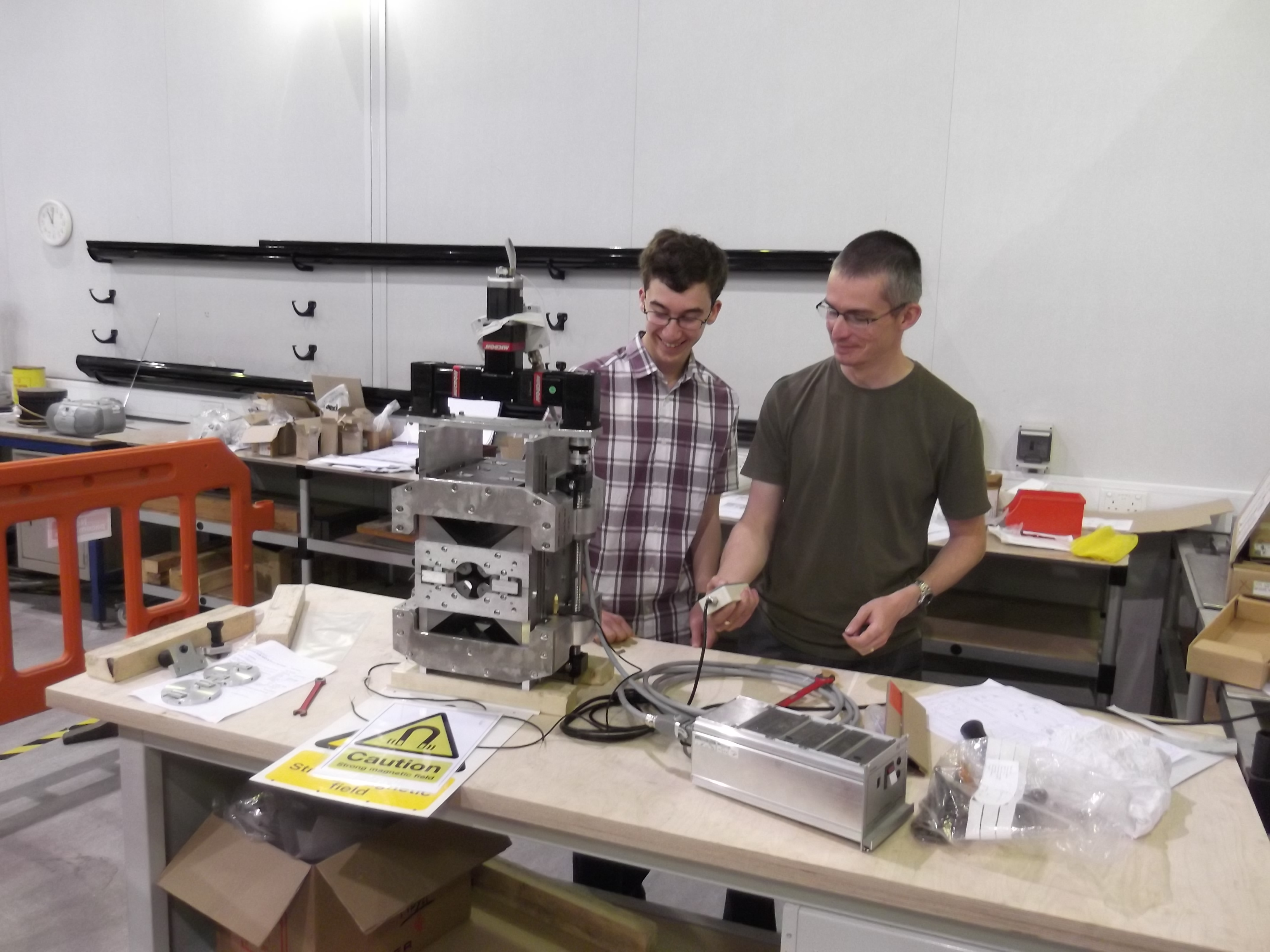 ASTEC ASTeC hosts work experience students