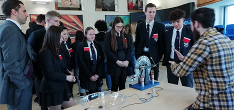School visit at Daresbury Laboratory